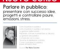 <B>Corso Parlare in pubblico con Pier Maria Cecchini<B>
